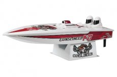 (AQUB1816) Aquacraft Model Kit P-27 Gunslinger Crackerbox Boot RTR