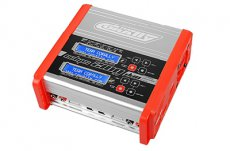 (C-48489) Team Corally - Eclips 2100 Duo Charger, AC/DC, 100W, Lcd Screen