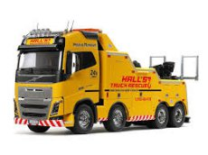 (T56362) Tamiya 1/14 Volvo FH16 Globetrotter 750 8x4 Tow Truck
